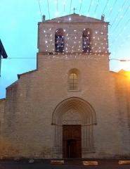 Eglise paroissiale Notre-Dame-de-Beaulieu - Deutsch: Église Notre-Dame-de-Beaulieu de Cucuron en hiver