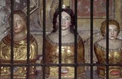 Eglise paroissiale Notre-Dame-de-Beaulieu - Deutsch: Église Notre-Dame-de-Beaulieu de Cucuron, à l'intérieur – Reliquaire de Tulle de Manosque