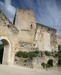 Château -  village of Lagnes Vaucluse, France