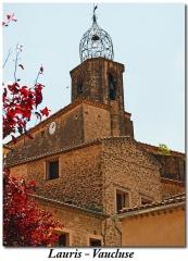 Eglise paroissiale Notre-Dame-de-la-Purification - Dansk: vue sur le clocher