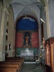 Eglise paroissiale Notre-Dame-de-la-Purification -  Notre Dame de la Purification, à Lauris, Vaucluse, France