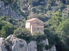 Chapelle Sainte-Madeleine - Français:   Arrière de la chapelle Sainte Madeleine, Mirabeau (84)
