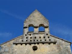 Chapelle Sainte-Madeleine - Français:   clocher de la chapelle Sainte Madeleine à Mirabeau (Vaucluse)