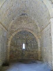Chapelle Sainte-Madeleine - Français:   Nef de la chapelle Sainte Madeleine à Mirabeau (Vaucluse)