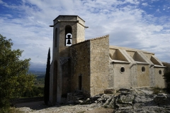 Eglise médiévale Notre-Dame-d'Alydon - Deutsch: Die Kirche