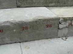 Amphithéâtre (temple dans un hémicyle précédé d'un nymphée) -  Abono de tres asientos para los Caballeros