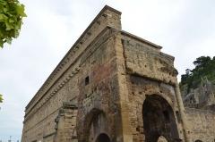 Amphithéâtre (temple dans un hémicyle précédé d'un nymphée) -  Ancient Theatre of Orange
