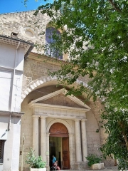 Eglise Notre-Dame-de-Nazareth (ancienne cathédrale) - Français:   Facade de Notre Dame de Nazareth, à Orange, Vaucluse, France