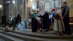 Eglise Notre-Dame-de-Nazareth (ancienne cathédrale) - Français:   Chants provençaux à Noël dans la cathédrale d\'Orange