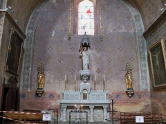 Eglise Notre-Dame-de-Nazareth (ancienne cathédrale) - Français:   Chapelle latérale de Notre Dame d Nazareth, Orange, Vaucluse, France