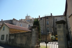 Hôtel d'Anselme - Français:   Arrière de l\'hôtel d\'Anselme à Pernes les Fontaines.