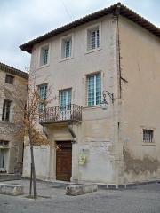 Maison natale d'Esprit Fléchier - Français:   Manison natale de Valentin Esprit Fléchier, Pernes les Fontaines, Vaucluse, France