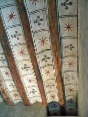 Tour Ferrande - Français:   Plafond peint de la Tour Ferrande à Pernes les Fontaines, Vaucluse, France
