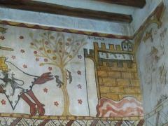 Tour Ferrande - Français:   Fresques de la Tour Ferrande  à Pernes-les-Fontaines, Vaucluse, France