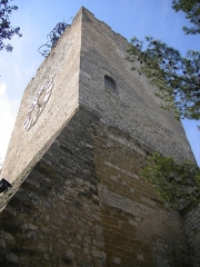 Tour de l'Horloge, dit aussi ancien château des comtes de Toulouse -  Pernes-les-Fontaines