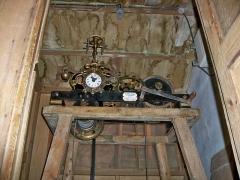 Tour de l'Horloge, dit aussi ancien château des comtes de Toulouse - Français:   Mécanisme rénové de la tour de l\'horloge de Pernes les Fontaines, Vaucluse, France