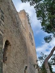 Tour de l'Horloge, dit aussi ancien château des comtes de Toulouse - Français:   Tour de l\'Horloge de Pernes les Fontaines, Vaucluse, France