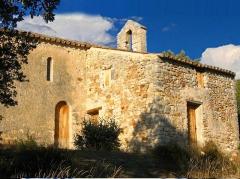 Chapelle Notre-Dame-des-Anges et ruines de son ermitage - Notre-Dame des Anges à Rustrel