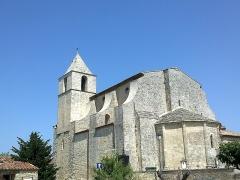 Eglise paroissiale Notre-Dame-de-Pitié -  Luberon Saignon Eglise Chevet 08072013