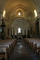 Eglise paroissiale Notre-Dame-de-Pitié - Français:   Saignon, département du Vaucluse (France). Eglise Notre-Dame-de-la-Sainte-Croix. Choeur roman