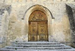 Eglise paroissiale Notre-Dame-de-Pitié -  Porte du 14ème de Notre-Dame-de-Pitié