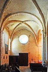 Eglise paroissiale Notre-Dame et Saint-Pierre - Deutsch: N-D et St-Christophe de St-Christol, Seitenschiff zum Eingang