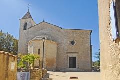 Eglise paroissiale Notre-Dame et Saint-Pierre - Deutsch: N-D et St-Christophe de St-Christol, Ostseite