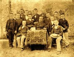Etablissement conventuel  dit Sainte-Garde-des-Champs - Français:   Séminaire de Sainte-Garde-des-Champs vers 1900