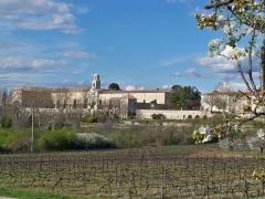 Etablissement conventuel  dit Sainte-Garde-des-Champs - Français:   Sainte-Garde-des-Champs à Saint-Didier, Vaucluse,France