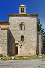 Eglise paroissiale de la Trinité - Deutsch: St-Trinit, Chorjoch, Südaseite
