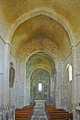 Eglise paroissiale de la Trinité - Deutsch: St-Trinit, Schiff aus Joch1 zum Chor