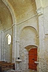 Eglise paroissiale de la Trinité - Deutsch: St-Trinit, Schiff, Südwand, Joche 2+3