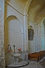 Eglise paroissiale de la Trinité - Deutsch: St-Trinit, Schiff, Nordwand, Joche 2+3
