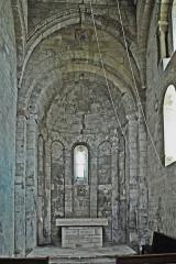 Eglise paroissiale de la Trinité - Deutsch: St-Trinit, Chor aus Schiff