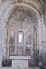 Eglise paroissiale de la Trinité - Deutsch: St-Trinit, Chorapsis