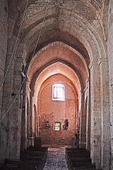 Eglise paroissiale de la Trinité - Deutsch: St-Trinit, Schiff aus Chor