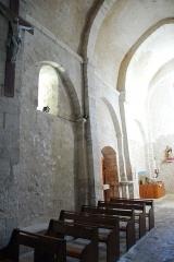 Eglise paroissiale de la Trinité - Deutsch: St-Trinit, Schiff, Südwand, Joche 3,2,1