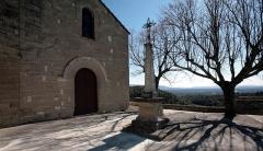 Eglise paroissiale Saint-Trophime -  Village of Saumane, France