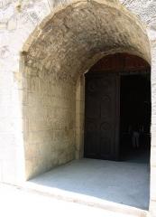 Ancienne cathédrale et cloître -  Main entrance to the cathedral of Vaison-la-Romaine