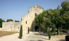Ancienne cathédrale et cloître - English: Notre Dame de Nazareth in Vaison-la-Romaine France