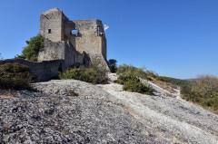Château (ruines) et rocher qui les porte - Deutsch:   Vaison-la-Romaine