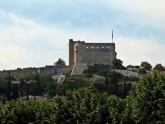 Château (ruines) et rocher qui les porte -  Vaison-la-Romaine: Schloss der Grafen von Toulouse