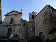 Ancienne église de la Haute-Ville, dite aussi ancienne cathédrale de la Haute-Ville -  Vaison, Haute-Ville