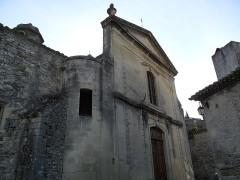 Ancienne église de la Haute-Ville, dite aussi ancienne cathédrale de la Haute-Ville -  Vaison , Haute-Ville