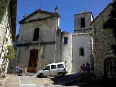 Ancienne église de la Haute-Ville, dite aussi ancienne cathédrale de la Haute-Ville -  Vaucluse Vaison-La-Romaine Ville Haute Cathedrale Sainte-Marie