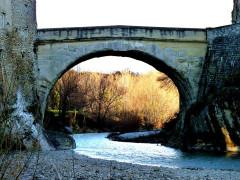 Pont romain - Français:   pont après restauration