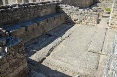 Terrains de fouilles gallo-romaines de la colline du Puymin (ensemble) -  Vasio Vocontiorum, Vaison-la-Romaine