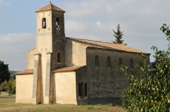 Temple protestant - English: The Protestant church of Lourmarin (Vaucluse, France)
