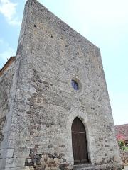Eglise Saint-Pierre - Français:   Audrix - Église Saint-Pierre - Façade occidentale