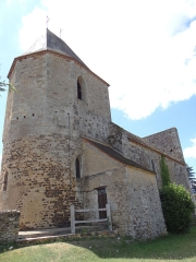 Eglise Saint-Pierre - Français:   Audrix - Église Saint-Pierre - Côté nord